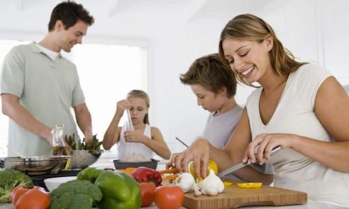 Очень важно при лечении билиарного панкреатита соблюдать сбалансирвоанное питание