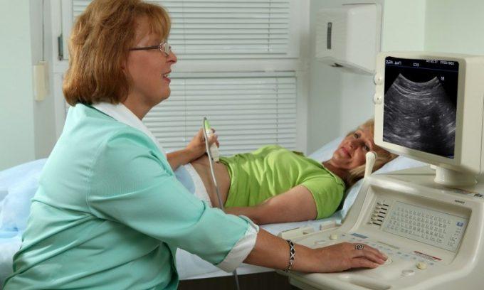 При подозрении на билиарный панкреатит врачи проводят ультразвуковое обследование