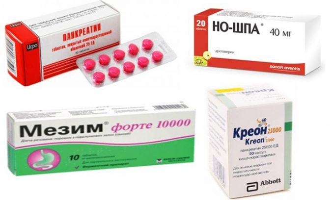 Комплексный прием средств при панкреатите алкогольного типа оказывает обезболивающий эффект, устраняет раздражение слизистой оболочки, улучшает обмен веществ